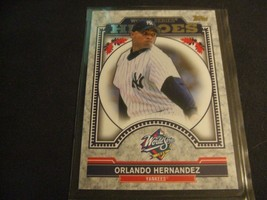 2014 Topps Update 1999 World Series Heroes Orlando Hernandez -New York Yankees- - $3.12