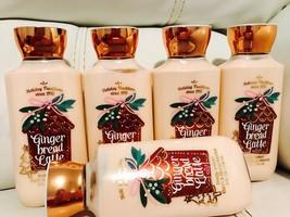 5 Bath & Body Works Ginger Bread LatteBody Lotion Full Size Big 8 Oz Lim... - $49.30