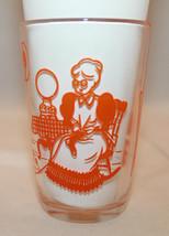Swanky Swigs Vintage Clear Drinking Juice Glass Man Women Knitting Cat O... - $26.10