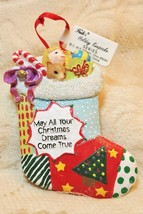 Paula's Holiday Keepsake Series Christmas Stockin Tree Ornament - $17.81