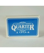 Sealed Deck 1994 Fairbanks Morse Quarter Century Club Playing Cards Brid... - $6.05