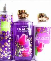 Bath & Body Works London Tulips Gift Set Lotion, Shower & Fragrance Mist - $28.21
