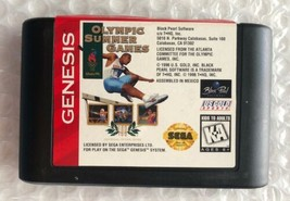 ☆ Olympic Summer Games (Sega Genesis 1996) AUTHENTIC Game Cart Tested Wo... - $6.00
