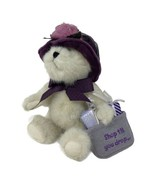 "BOYDS Bear Plush Ineeda Bargain Shop Till You Drop 8"" Teddy # 903062 w/ Tags - $14.99"