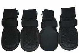 LONSUNEER Breathable Dog Boots with Nonslip Soles, Size XL