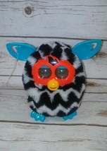 2012 FURBY Boom Black & White Zig-Zag Stripe Talking Interactive Pet Tea... - $25.98