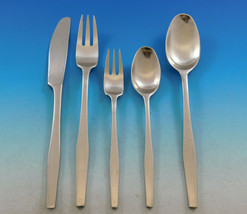 Variation V by Dansk Stainless Steel Flatware Set Service 44 pieces Vintage - $1,350.00