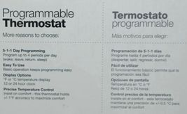Honeywell RTH2410B Programmable Thermostat Easy Programming image 4