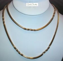 Vintage Sarah Coventry  Jewelry - #8036 Fashion Accent Chain - $15.44