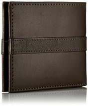 Tommy Hilfiger Men's Leather Credit Card Wallet Billfold Brown 5673-02 image 2