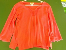Talbots Woman's pink top size M long sleeve (MS) - $4.99