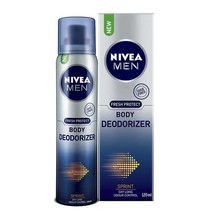 NIVEA MEN BODY DEODORIZER  SPRINT  FEELS GOOD LIKE NATURE FREE SHIPPING - $11.30