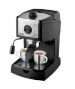 DeLonghi EC155 Bar Pump Manual Espresso Latte Machine Cappuccino Maker F... - $49.47
