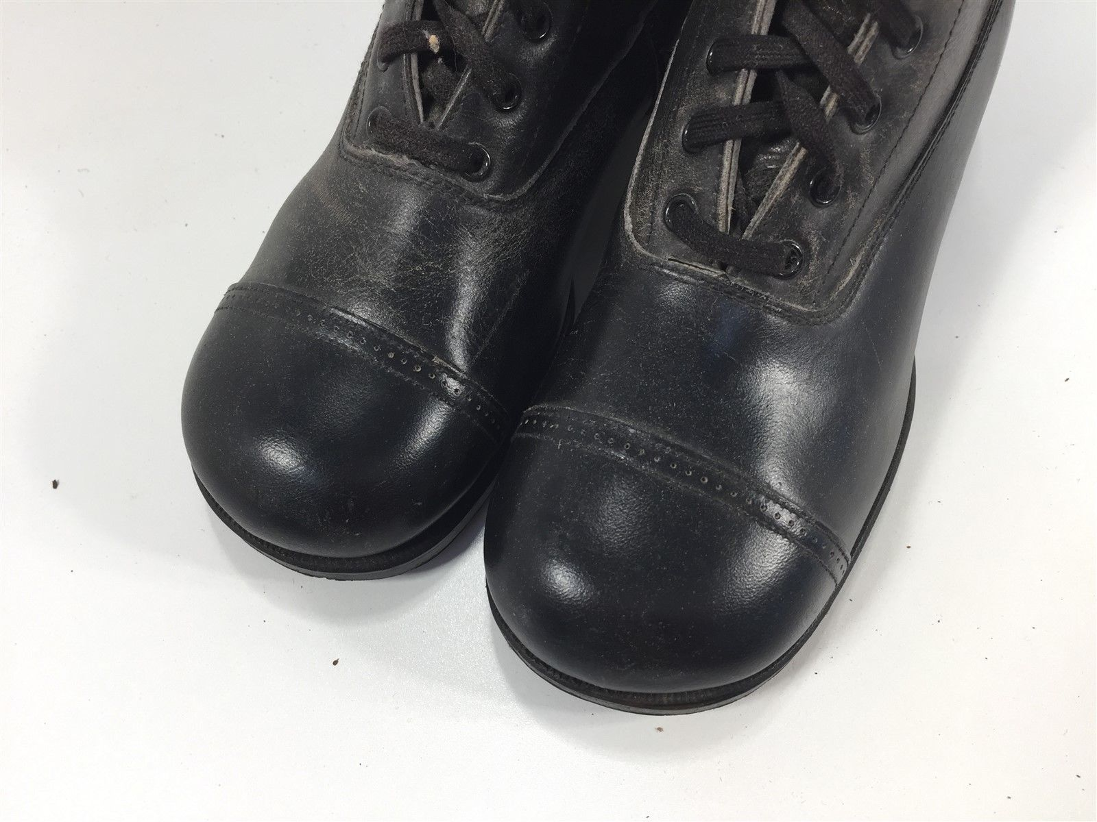 4cf354144f3ec Antique Children's Lace Up Boots Black and 50 similar items