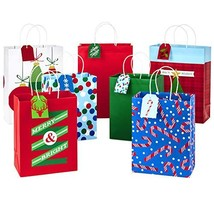Hallmark Christmas Assorted Gift Bag Bundle (Christmas Icons, 7 Pack Ass... - $21.08