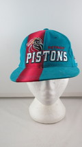 Detroit Pistions Hat (VTG) - Sports Specialties 1997 Draft Day - Adult Snapback - $55.00