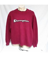 VTG Champion Sweatshirt Pullover Spell Out Embroidered Sportswear 90s Ju... - $59.99