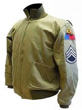 Brad Military Wardaddy WW2 Tanker Cotton Pitt Jacket image 1