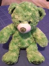 New Build A Bear Irish  shamrock plush green stuffed St Patricks Day - $26.99
