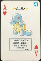 Squirtle 1996 Pokemon Card Green playing card poker card Rare BGS From JP - $49.99