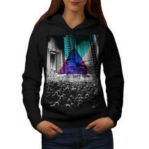 Urban Crowd Street City Sweatshirt Hoody Color Prism Women Hoodie - $21.99+
