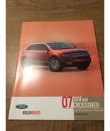 2007 Ford SUV and Crossover Escape Escape Hybrid Sales Brochure - $7.91