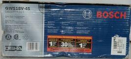 BOSCH GWS18V 45 Cutoff Angle Grinder 18V Blue Package 1 image 3