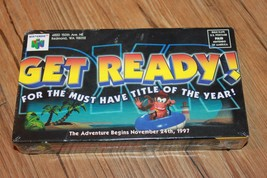 Nintendo 64 Diddy Kong Racing VHS Tape Pre-Release 1997 Brand New & Seal... - $32.29