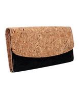 Boshiho Women Cork Wallet Slim Design Credit Card Holder Clutch Purse Ve... - $27.11