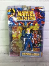 Vintage ToyBiz Marvel Universe Hall Of Fame Invisible Woman Action Figur... - $14.84