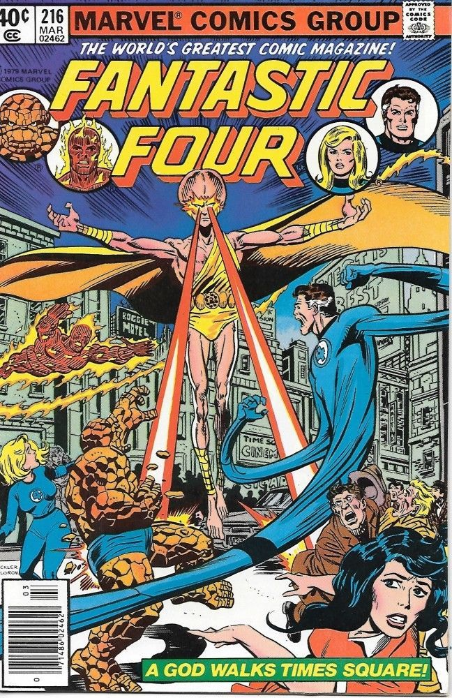 Primary image for Fantastic Four Comic Book #216 Marvel Comics 1980 VERY FINE