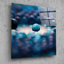 Wall Art Glass Print Canvas Picture Large Painting Balls Marble Macro Ab... - $42.06+
