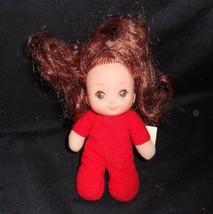 "4"" Vintage 1982 Playskool Candyland Kids Candy Red Pepper Mint Figure Doll Toy - $11.30"