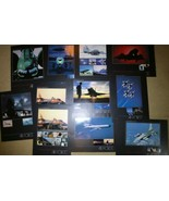 Lot of 11 New US AIR FORCE VINTAGE POSTERS 17x23 Lithograph Series #35 F... - $37.61