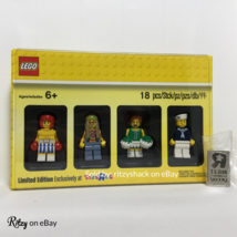 "Lego City RARE Toys R Us Bricktober Week 4 5004941 Minifigure Set with ""R"" Pin - $49.99"