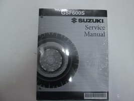2000 01 02 03 2004 Suzuki GSF600S Service Repair Manual Brand New Factory Oem - $49.49