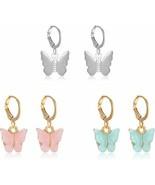 Korean Butterfly Earrings for Women Street Style Drop Dangle 2020 Weddin... - $11.83+