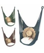 Hammock Swing Hanging Rope Seat Net Chair Tree Outdoor Porch Patio Outdoor Garde - $92.50