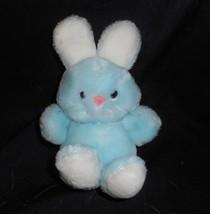 "6 "" Vintage 1981 Dakin Bébé Bleu à Câliner Bunny Rabbit Animal en Peluch... - $20.75"