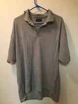 Men's Van Heusen Gray Polo Shirt S/S Size XXL  - $15.47