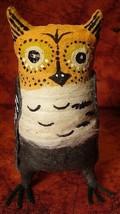 Vintage Inspired Spun Cotton Halloween Owl 243 image 1
