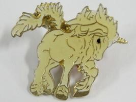 White Unicorn Vintage Lapel Pin - $7.99