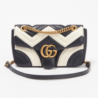 b8a07f16676a Gucci GG Marmont Gold Chain Shoulder Bag and 50 similar items. 1