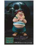 """WDCC Disney Post Card Postcard Unposted 4"""" by 6"""" Skull Peter Pan Mr Smee - $6.00"""