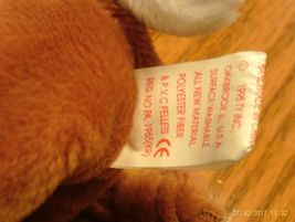 1st Edition Beanie Babies Rare Bessie the Cow, image 4