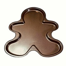 Wilton Gingerbread Man Cookie Pan Brownies Holiday Baking Pan Christmas ... - $8.90