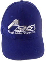 Smith Metal Source Inc SMS Tampa Florida FL Embroidered Strapback Cap Hat - $25.32