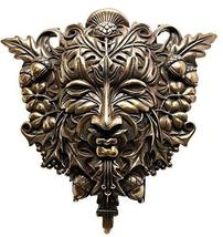 Ebros Faux Bronze Acorn and Clover Greenman Unique Wall Plaque Sculpture... - £36.71 GBP