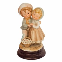 Gorham porcelain figurine sculpture gift vtg antique Japan Lucas signed ... - $39.55