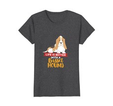 Cute Basset Hound T-shirt for Dog Lover Mom and Dad - $19.99+
